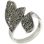 Ring 925 Sterling Silber Markasit 20 - 104167800004 - 1 - 140px