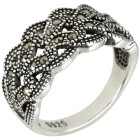 Ring 925 Sterling Silber Markasit 18 - 104168100002 - 1 - 140px