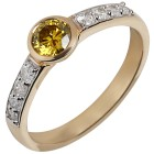 Ring 585 Gelbgold Diamanten   - 104258200000 - 1 - 140px