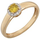Ring 585 Gelbgold Diamanten   - 104258300000 - 1 - 140px