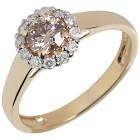 Ring 585 Gelbgold, Diamanten 16 - 104258400001 - 1 - 140px