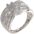 Ring 585 Weißgold Diamanten   - 104287000000 - 1 - 140px