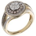 Ring 585 Gelbgold Diamanten   - 104287800000 - 1 - 140px