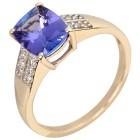 Ring 585 Gelbgold AAATansanit   - 104299600000 - 1 - 140px
