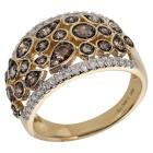 Ring 585 Gelbgold Chocolate Diamanten   - 104318700000 - 1 - 140px