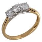 Ring 750 Gelbgold Brillanten   - 104319000000 - 1 - 140px
