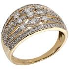 Ring 585 Gelbgold Diamanten   - 104319200000 - 1 - 140px