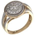 Ring 585 Gelbgold Diamanten   - 104319400000 - 1 - 140px