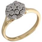 Ring 585 Gelbgold Diamanten   - 104319500000 - 1 - 140px