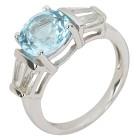 Ring 925 St. Silber Blautopas behandelt   - 104322500000 - 1 - 140px