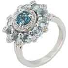 Ring 925 Sterling Silber Topas behandelt   - 104323100000 - 1 - 140px