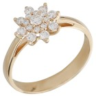 Ring 585 Gelbgold Brillanten   - 104376700000 - 1 - 140px