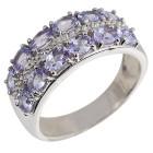 Ring 925 Sterlng Silber Tansanit + Zirkon   - 104406500000 - 1 - 140px
