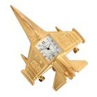 """Miniaturuhr """"Düsenjet"""", Quarzwerk, gelbvergoldet - 104412200000 - 1 - 140px"""