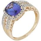 Ring 585 Gelbgold AAATansanit   - 104415100000 - 1 - 140px
