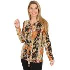 Damen-Pullover, gelb/multicolor   - 104417800000 - 1 - 140px