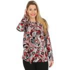 Damen-Pullover, rot/multicolor   - 104419500000 - 1 - 140px