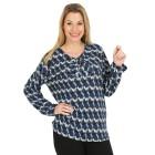 Damen-Pullover, blau/multicolor   - 104419900000 - 1 - 140px
