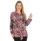 Damen-Pullover, pink/multicolor