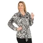 Damen-Pullover, schwarz/multicolor   - 104420700000 - 1 - 140px