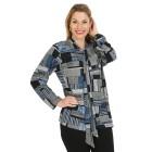 Damen-Pullover, blau/multicolor   - 104420800000 - 1 - 140px