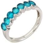 Ring 925 Sterling Silber Opal blau - 104433000000 - 1 - 140px