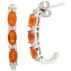 Creolen 925 Sterling Silber Opal orange - 104441000000 - 1 - 140px