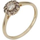 Ring 585 Gelbgold Mocaccino Diamanten   - 104450700000 - 1 - 140px