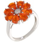 Ring 925 Silber, Äthiopischer Opal + Zirkon - 104458900000 - 1 - 140px