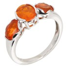Ring 925 Sterling Silber Äthiopischer Opal orange   - 104460100000 - 1 - 140px