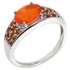 Ring 925 Silber Äthiopischer Opal +Citrin   - 104460400000 - 1 - 140px