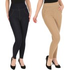 FASHION NEWS 2er Pack Jeans-Leggings navy/taupe - 104469500000 - 1 - 140px