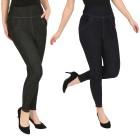FASHION NEWS 2er Pack Jeans-Leggings schwarz/navy   - 104469600000 - 1 - 140px