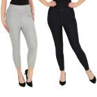 FASHION NEWS 2er Pack Jeans-Leggings navy/silber   - 104472000000 - 1 - 140px