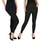 FASHION NEWS 2er Pack Jeans-Leggings schwarz/navy - 104472500000 - 1 - 140px