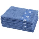 Handtuch 4-teilig, Floral blau - 104565900000 - 1 - 140px