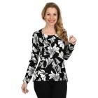 IMAGINI Damen-Pullover schwarz/weiß   - 104632100000 - 1 - 140px