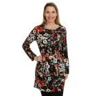 Langes Damen-Tunikashirt multicolor   - 104641300000 - 1 - 140px