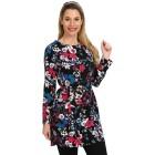 Langes Damen-Tunikashirt multicolor   - 104641400000 - 1 - 140px