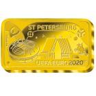 UEFA EURO 2020™ Sankt Petersburg 0,5g Goldbarren - 104645900000 - 1 - 140px