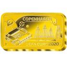 UEFA EURO 2020™ Kopenhagen, Goldbarren - 104646400000 - 1 - 140px