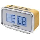 Retro Uhrenradio, hellbraun - 104708700000 - 1 - 140px