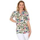 RÖSSLER SELECTION Damen-Polo-Shirt  multicolor