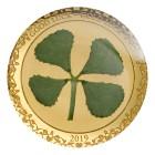 Goldmünze Glücksklee, 1 g - 104911900000 - 1 - 140px