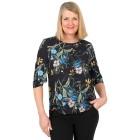 Z-ONE Damen Bluse mit Blumendruck multicolor   - 104944700000 - 1 - 140px