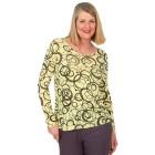 Z-ONE Damen Pullover bedruckt gelb/grau   - 104948800000 - 1 - 140px
