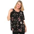 Z-ONE Damen Blusenshirt mit Blumendruck multicolor   - 104950000000 - 1 - 140px