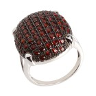 Ring 925 Sterling Silber, Granat Gr. 20 - 14773710303 - 1 - 140px