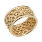 Ring 375 Gelbgold mit Kordelmuster   - 14843100000 - 1 - 140px