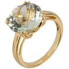 Ring 925 Sterling Silber vergoldet Prasiolith Gr. 19 - 14880910503 - 1 - 140px